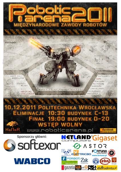robotic arena